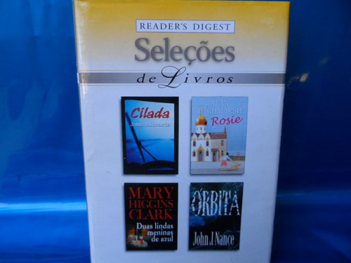 seleções com 4 livros cilada rosie duas lindas menina órbita