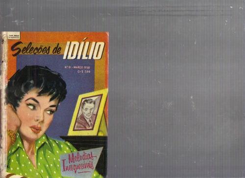 seleções de idílio nº 81 - março/1958 - frete grátis