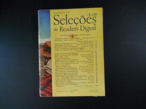 seleções do reader's digest - fevereiro de 1946