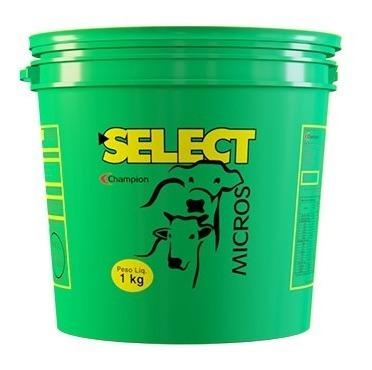 select micros 1 kg - champion saúde animal