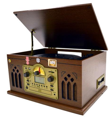 select sound reproductor nostálgico bluetooth casete usb sd