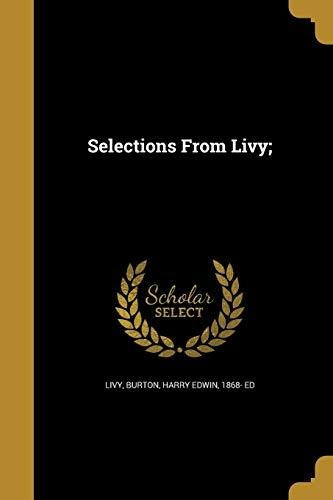 selections from livy; : livy