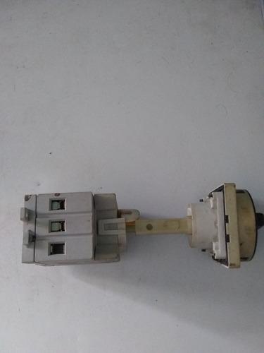 selector conmutador  trifasico 40amp/600vac