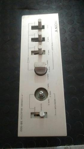 selector de audio tape recorder sony sb-500(p-20$)