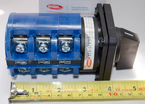 selector manual para planta electrica 63 amp transfer