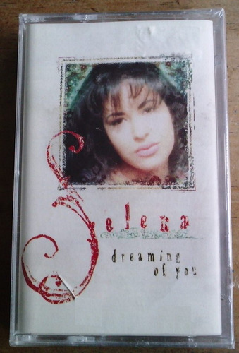 selena dreaming of you cassette de fabrica c/booklet