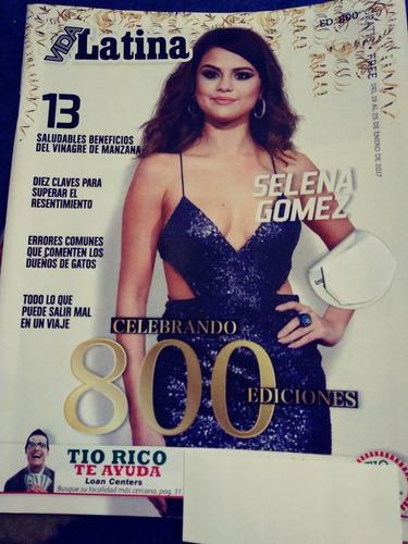 selena gomez shakira revista vida latina