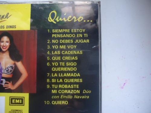 selena y los dinos - cd album - quiero...