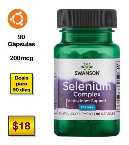 selenio ( 90 cápsulas x 200mcg )