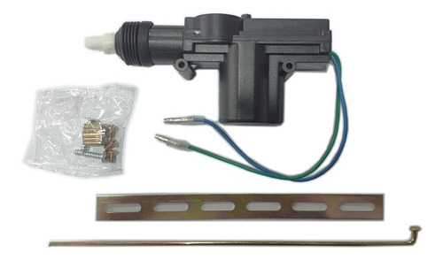 selenoide universal seguros electricos 2 cables puerta carro