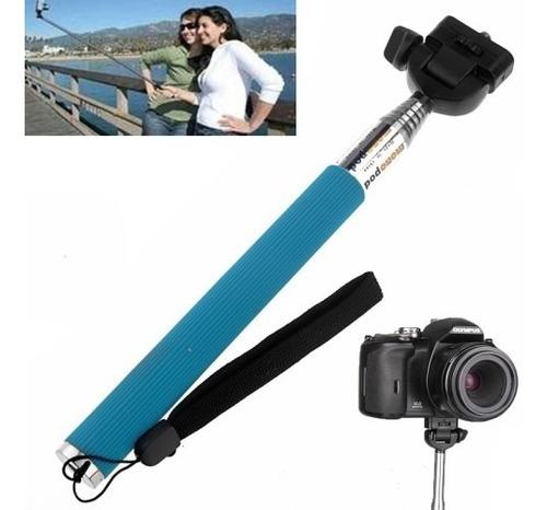 selfie monopod adaptador celulares máquinas foto gopro tripé