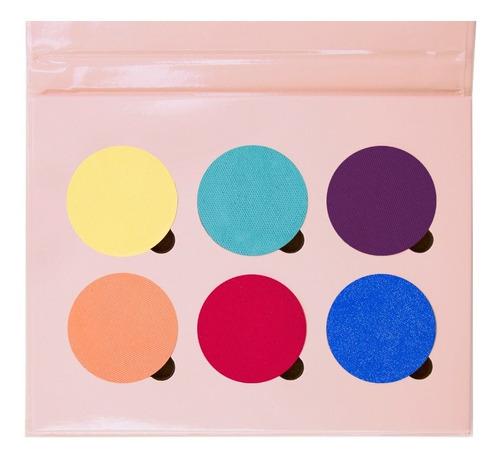 selfie paleta de sombras con colores básicos x6 regina