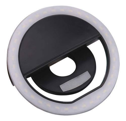 selfie ring light luz d led flash celular recarregável 10 p