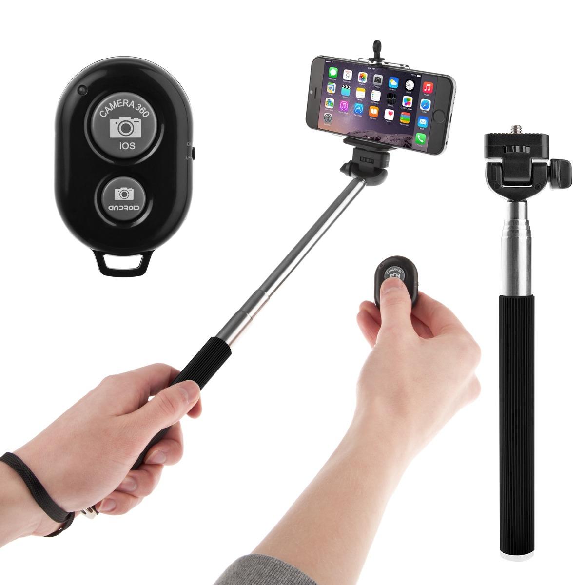 selfie stick apple android monopod bluetooth envio gratis en merca. Black Bedroom Furniture Sets. Home Design Ideas