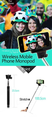 selfie stick para iphone y android