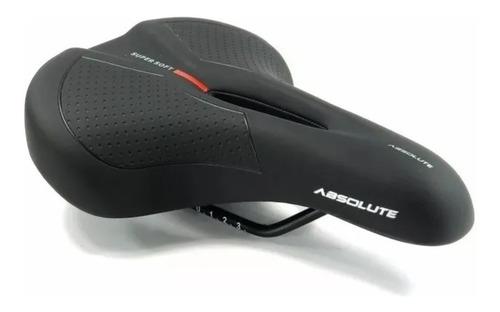 selim bike absolute super soft vazado confortável mtb vd850d