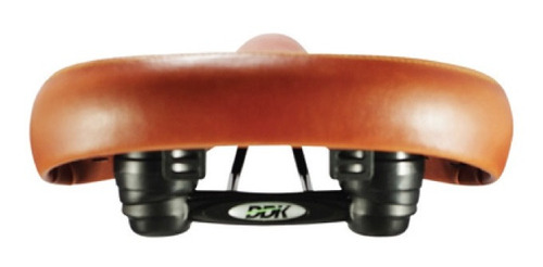 selim cruiser ddk-ex18 tipo couro + blocagem de selim