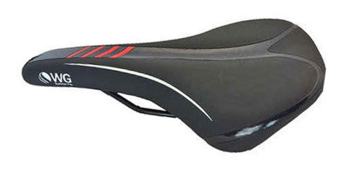 selim mtb wg sports pto/vmo banco bike bicicleta confortável