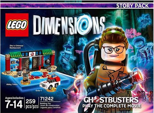sellado lego dimensions caza fantasmas ps4 ps3 xbox wii u
