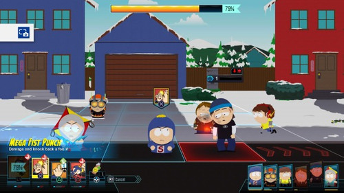 sellado south park the fractured but whole nuevo juego ps4