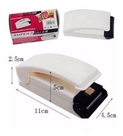 sellador cellador manual para bolsas de plástico usa calor.