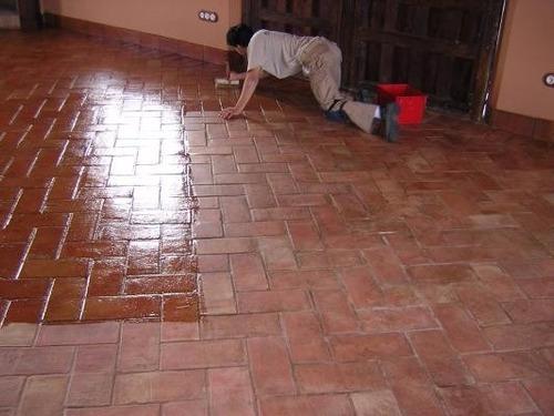 Sellador para barro pisos tejas ladrillos adobes etc - Como limpiar suelos de barro ...