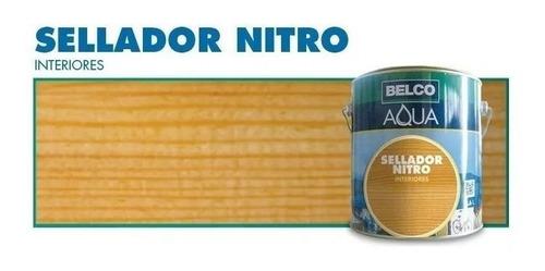 sellador para madera belco aqua nitroceluloso 0.9 lt - ynter