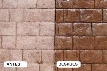 sellador para pisos de cemento y fachadas, lajas, tablillas.