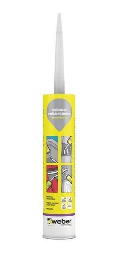 sellador poliuretánico flex pu weber colores  300 ml mm