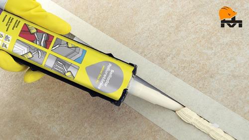 sellador poliuretanico weber flex pu 300ml adhesivo