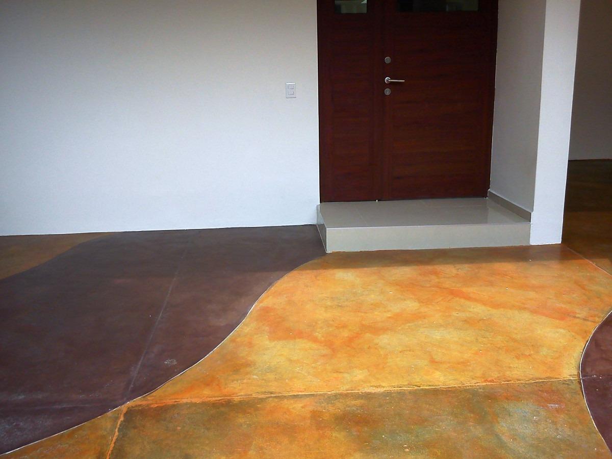 Sellador y color para concreto oxidado en un solo producto for Precio del mercado de concreto encerado