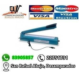 selladora de bolsa plastica 30 cms.-cba02
