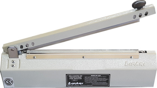 selladora de bolsas cizalla lipari cc400 40 cm con corte