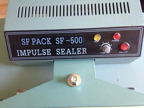selladora de bolsas pedal impulso automática 50 cms