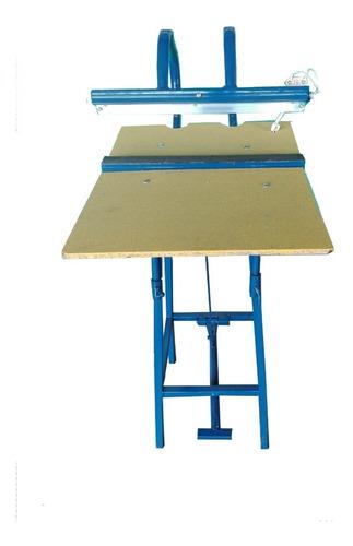 selladora de bolsas plàsticas pedal 38 cms largo de sellado