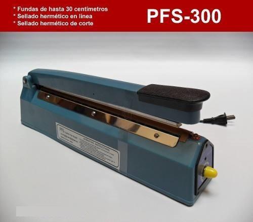 selladora de fundas bolsa plasticas,pfs-300, 12 pulgadas