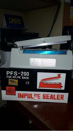 selladora de funtas plasticas 8 20cm reforzada metalica