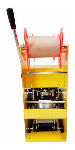 selladora de vasos manual + rollo