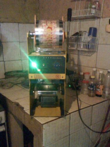 selladora de vasos para frappe marca sealing machine