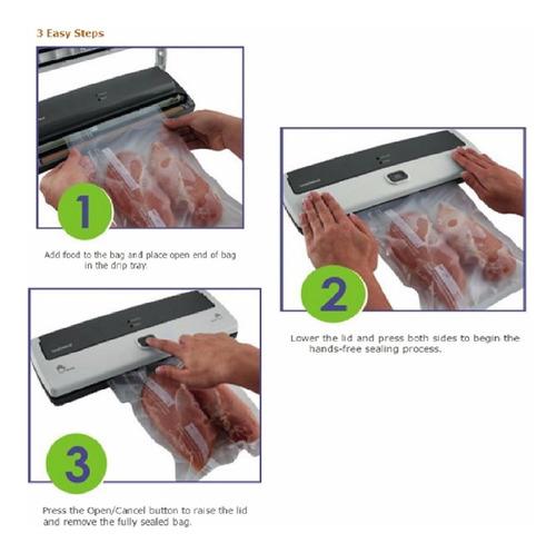 selladora empacadora alimentos al vacio conserva comida w01