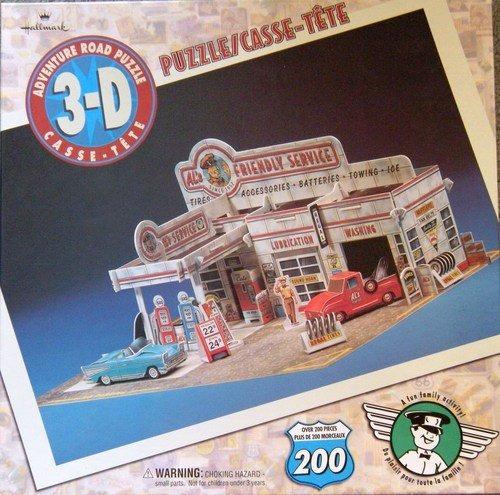 sello 3-d adventure road puzzle