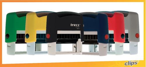 sello automatico traxx 9010 / 9011 x 10  - venta por mayor
