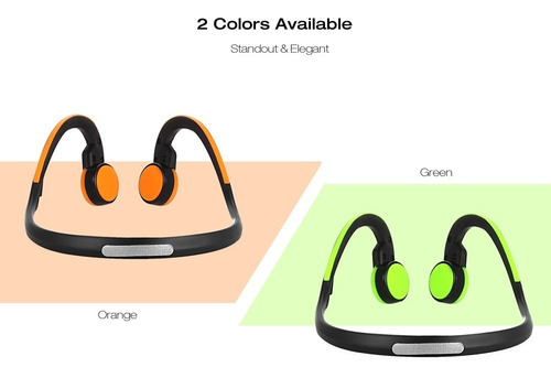sello bt - bk bluetooth 4.1 auriculares de conducción ósea