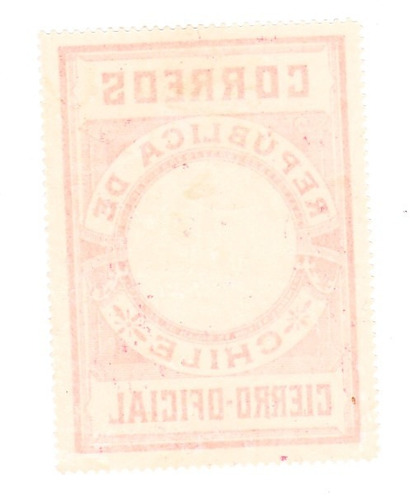 sello cierros oficiales 1900 circulo blanco al centro