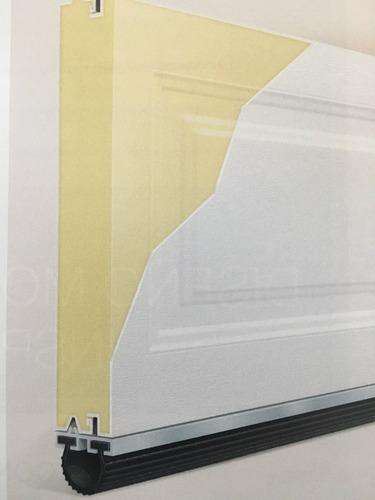 sello de hule para portón electrico $125 pesos mt