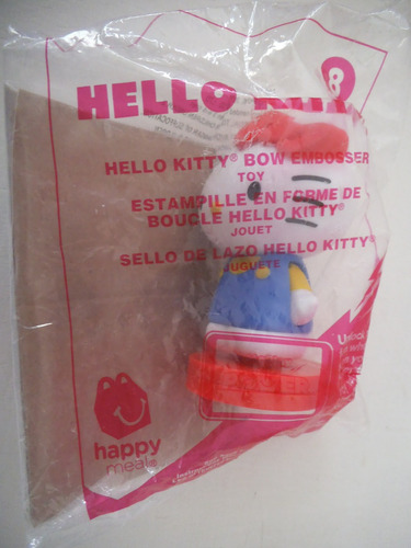 sello de lazo hello kitty  mcdonalds