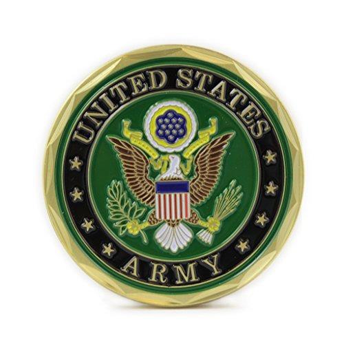 sello del ejército de ee. uu. defensa de la moneda de la