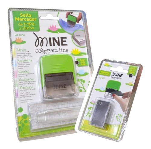 sello etiquetador/ marcador papel y tela y repuestos- mine
