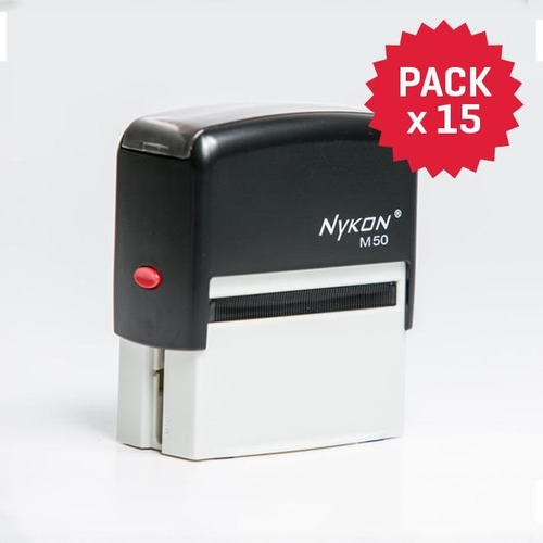 sello nykon m50 (pack x 15 sellos)