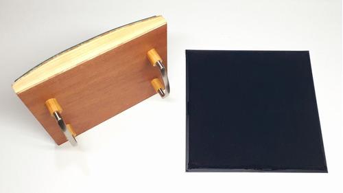 sello personalizado 20x20 estampar bolsa papel caja cartón